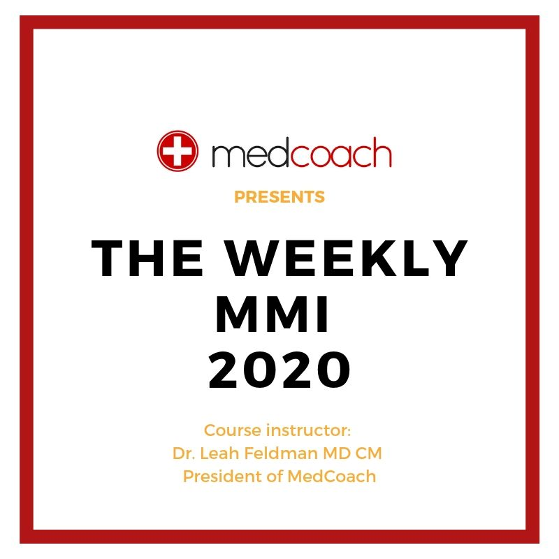 Weekly MMI – 2020 Course Recording