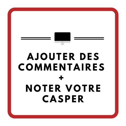 Ajouter des commentaires à votre CASPer